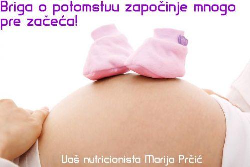 Značaj ishrane tokom trudnoće